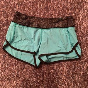 Lululemon Teal Speed Shorts | 4